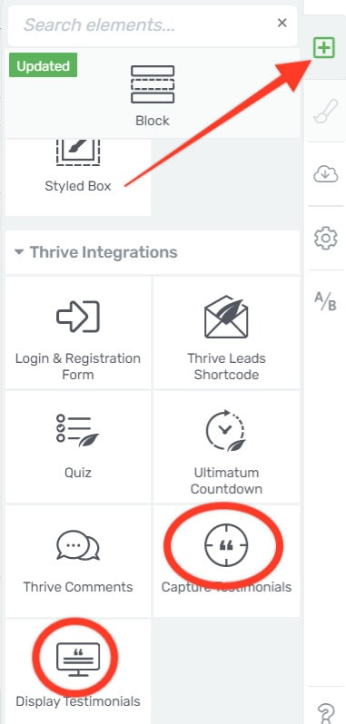click-on-add-element-from-thrive-architect