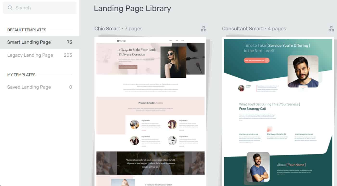 landing-page-library